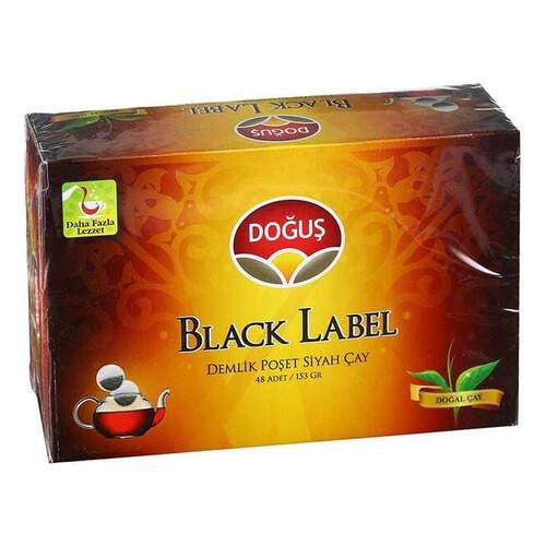 Doğuş Çay Black Label Demlik Poşet 153 Gr.