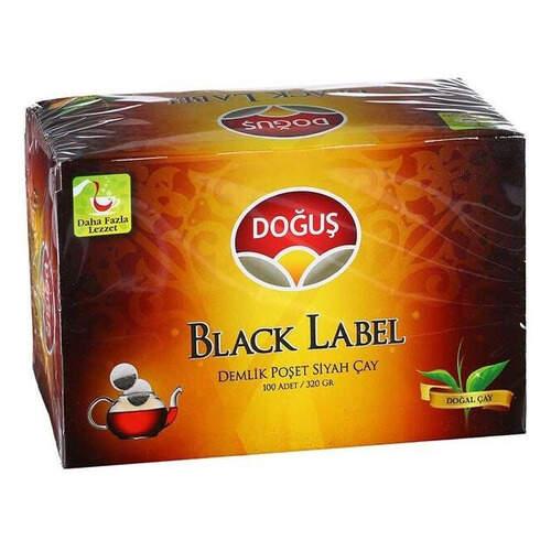 Doğuş Çay Black Label Demlik Poşet 320 Gr.