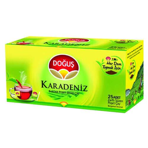 Doğuş Çay Karadeniz Süzme Poşet 50 Gr.