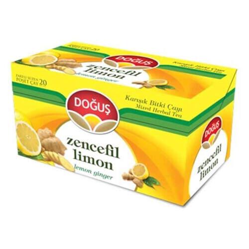 Doğuş Bitki Çayı Zencefil-limon 40 Gr.