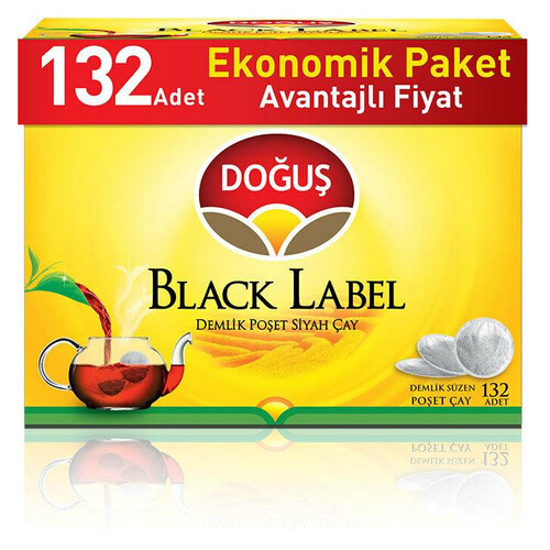 Doğuş Black Label Demlik Poşet 132 Li