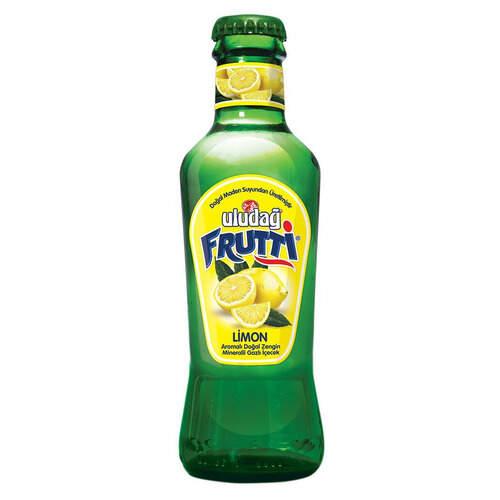 Uludağ Maden Soda Limon Aromalı 200 Ml.
