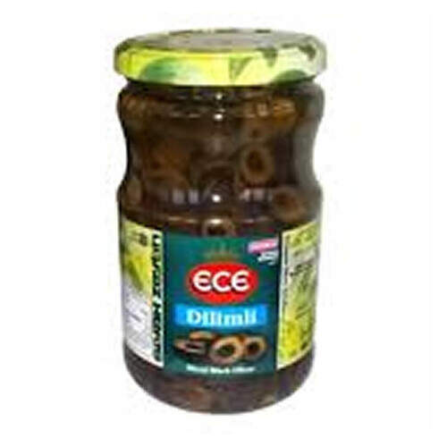 Ece Siyah Dilim Zeytin 720 Cc.
