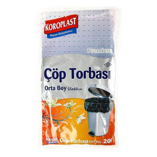 Koroplast Çöp Torbası Orta Boy 20'li (0250)