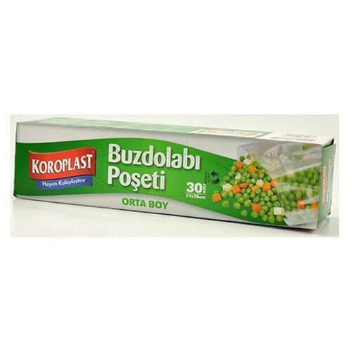 Koroplast Buzdolabı Poşeti Orta Boy 30'lu