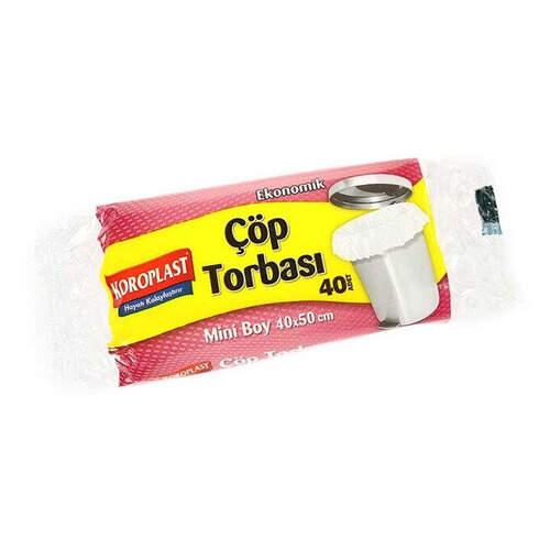 Koroplast Çöp Poşeti Mini 40*50