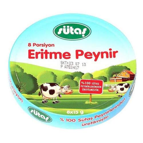 Sütaş Tam Yağlı Üçgen Peynir 8x12