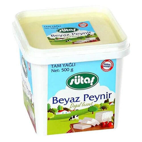 Sütaş Tam Yağlı Beyaz Peynir 500 Gr.