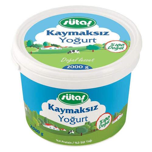 Sütaş Tam Yağlı Yoğurt 2000 Gr.