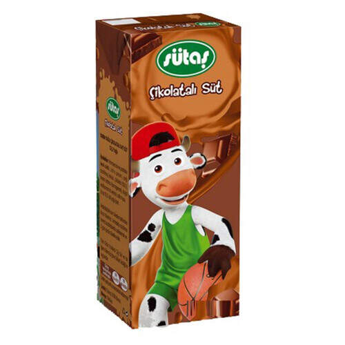 Sütaş Kakaolu Süt 180 Ml.