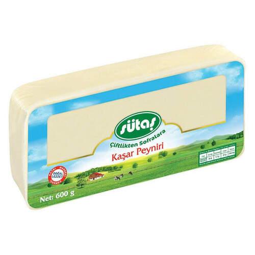 Sütaş Kaşar Peyniri 600 Gr.