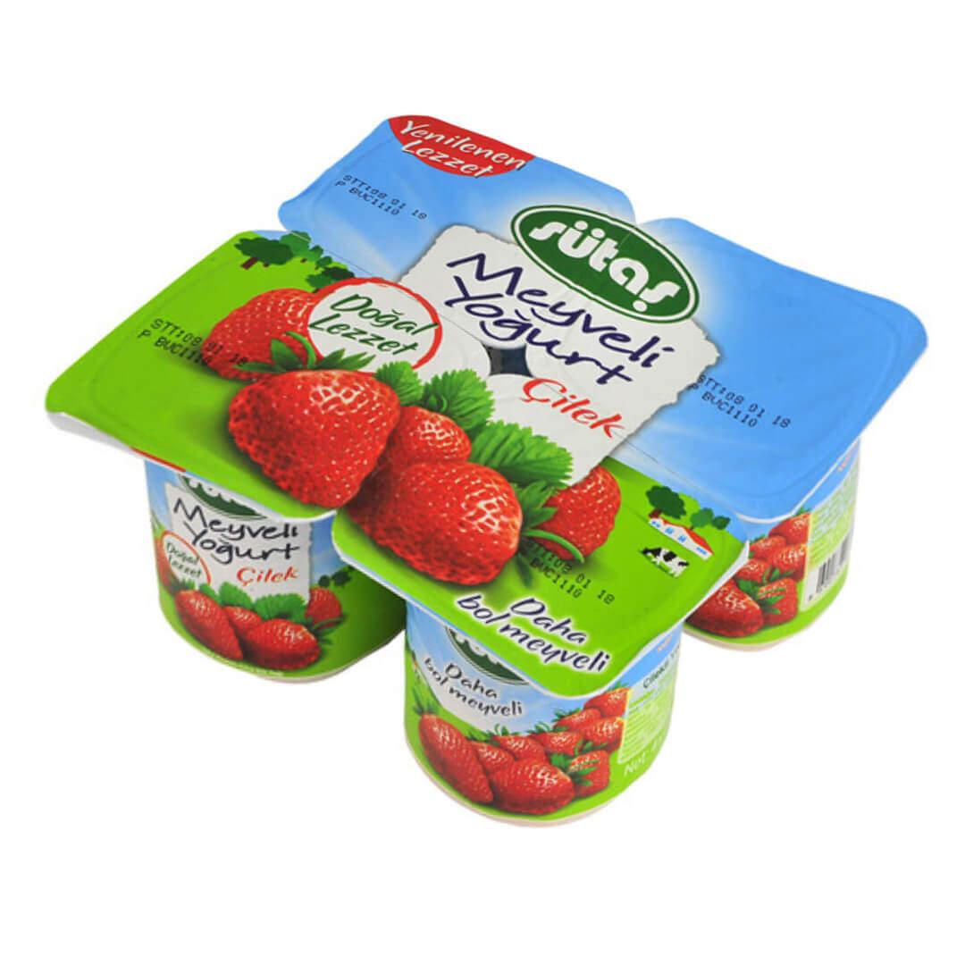 Sütaş Meyveli Yoğurt 115 Gr.