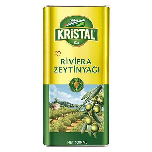 Kristal Riviera Zeytinyağı 4000 Ml.