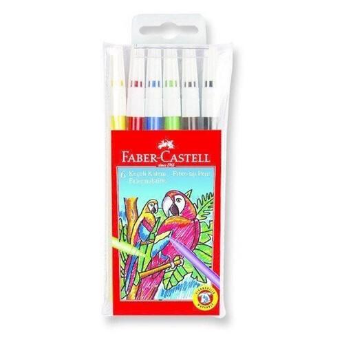 Faber Castell 6lı Keçeli Kalem