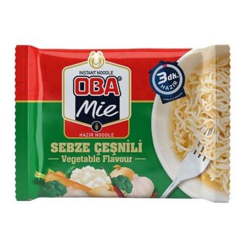 Oba Mie 75gr.hazir Noodle Sebze Çesnili