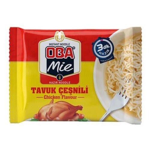 Oba Mie 75gr.hazır Noodle Tavuki Çeşnili