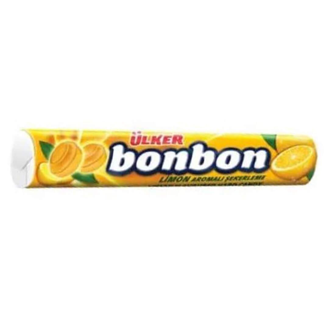 Ülker Bonbon Rulo Şeker Limonlu 32,5 Gr.
