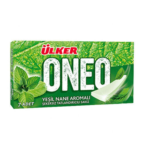 Ülker Oneo Slims Yeşil Nane Sakız 14 Gr.