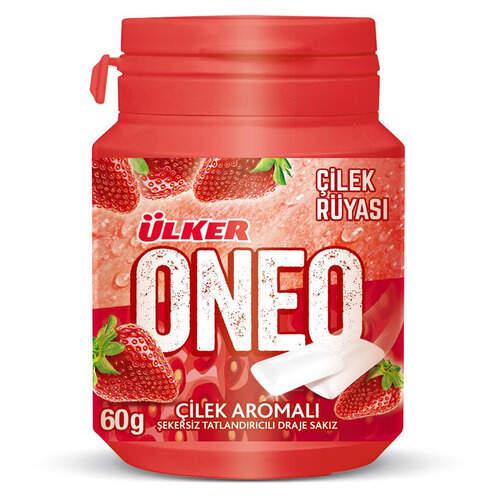 Ülker Oneo Çilek Bottle Draje Sakız 60 Gr.
