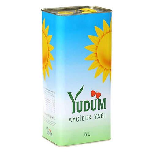 Yudum Ayçiçek Yağı Teneke 5 Litre