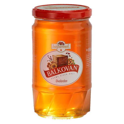 Balkovan Balparmak Süzme Çiçek Balı (cam )850 Gr.