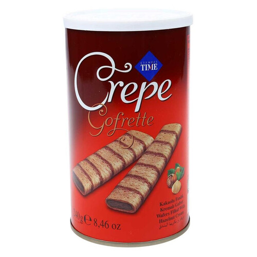 Wafer Crepe Gofret 240 Gr.fındıklı
