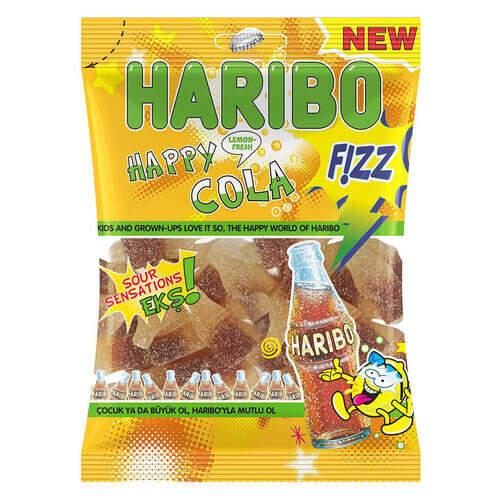 Haribo Fızz Happy Cola 80 Gr