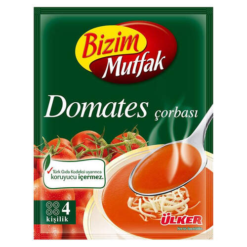 Ülker Bizim Mutfak Domates Çorbası 65 Gr.