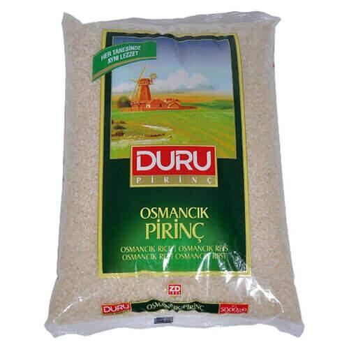 Duru Osmancık Pirinç 5 Kg.