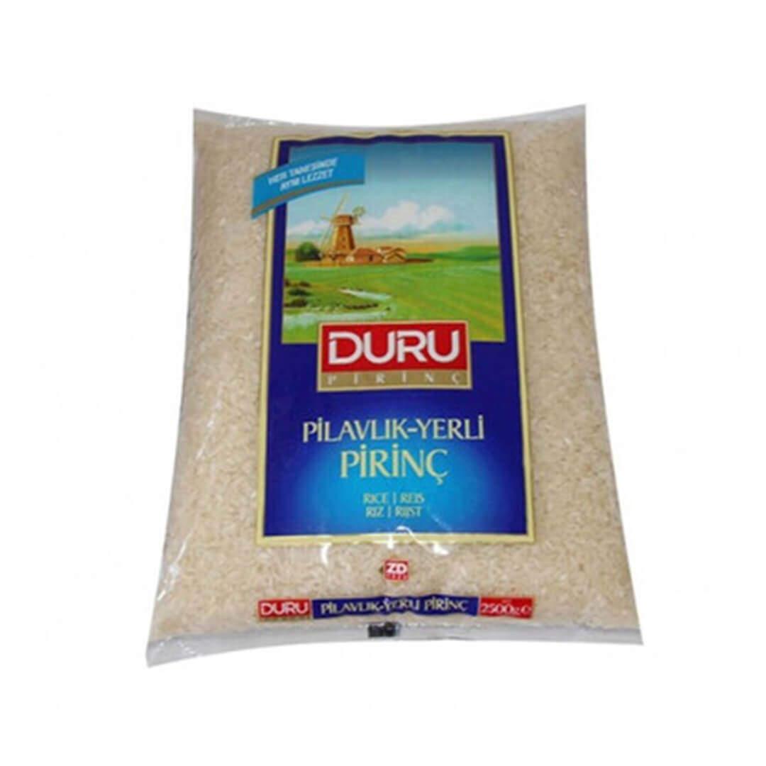 Duru Pilavlık Pirinç 2.5 Kg.