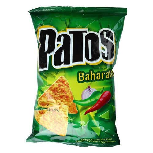 Patos Baharatlı Mısır Cipsi 118 Gr.