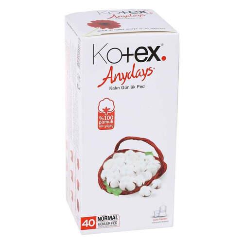Kotex Anydays Normal Günlük 40'lı Ped
