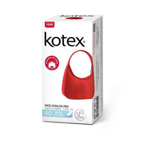 Kotex Lightdays Parfümsüz Günlük 40'lı Ped