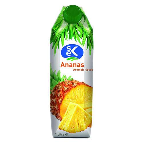Sek Ananas Meyve Suyu 1000 Ml.
