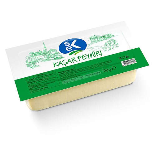 Sek Kaşar Peyniri 600 Gr.