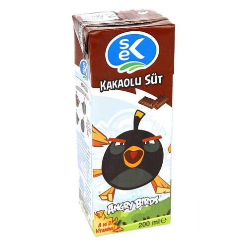 Sek Kakaolu Aromalı Süt 180 Ml