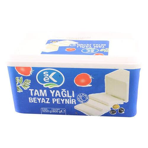 Sek Tam Yağlı Beyaz Peynir 800 Gr.