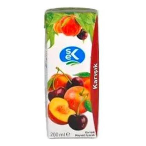 Sek Karışık Meyveli İçecek 200ml.