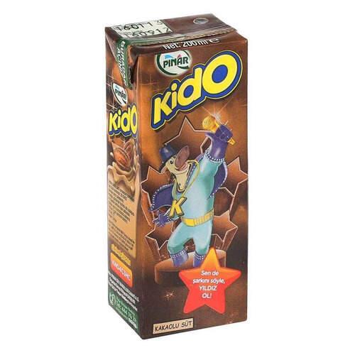 Pınar Kido Kakaolu Süt 200 Ml.