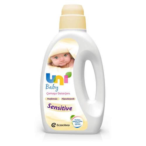 Uni Baby Çamaşır Deterjanı Sıvı Sensitive 1500 Ml.
