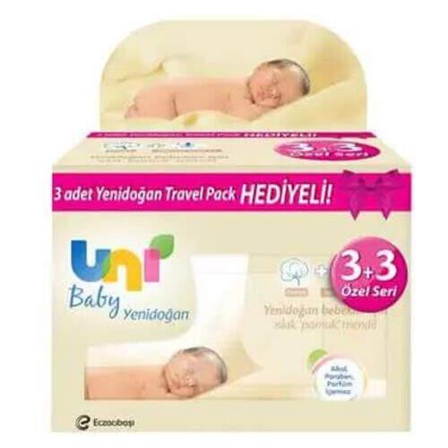 Uni Baby Yenidoğan Avantaj Paket 3'lü