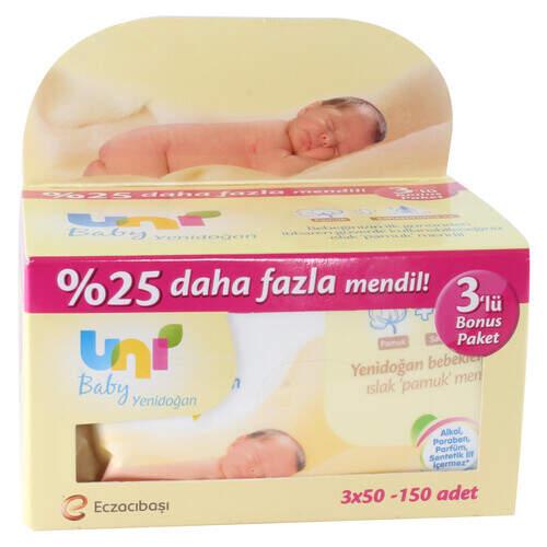 Uni Baby Yenidoğan Avantaj Paket 3x50