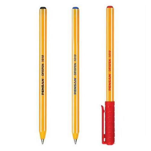Pensan Offis Pen Kırmızı Tükenmez Kalem