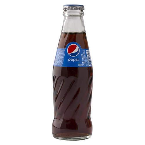 Pepsi Cola Cam Şişe 200 Ml.