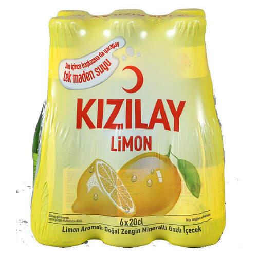 Kızılay Soda Limon Aromalı 200 Ml.
