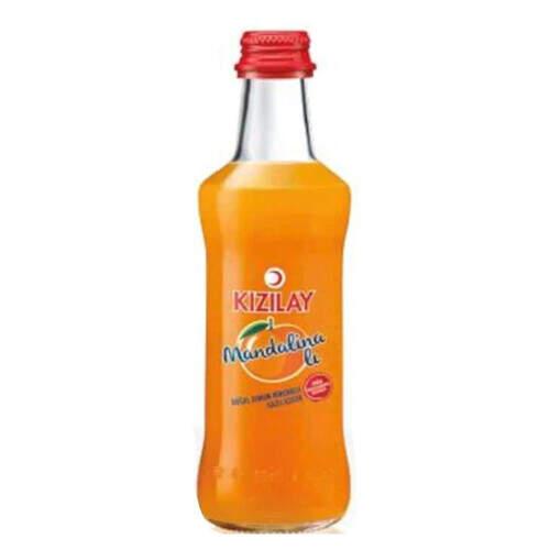 Kızılay Soda Premium Mandalina Aromalı 250 Ml.