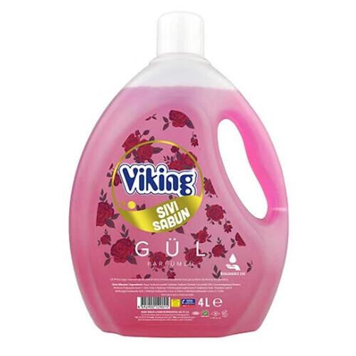 Viking Gül Sıvı Sabun 4l.