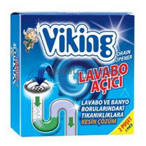 Viking Lavabo Açıcı 75 Gr. 2'li