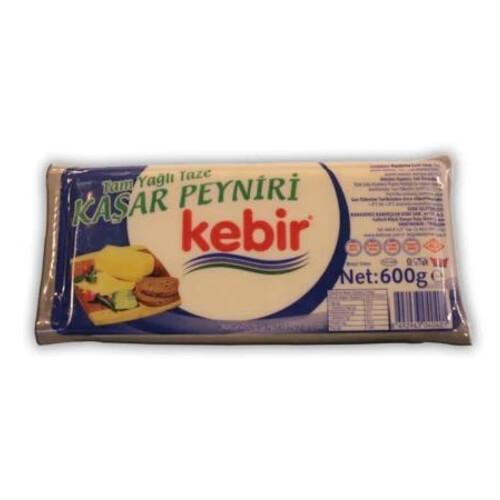 Kebir Taze Kaşar Peyniri 600 Gr