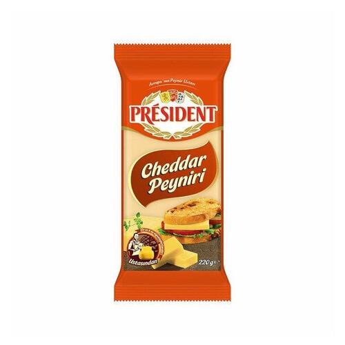 Presıdent Cheddar Peynir 220gr